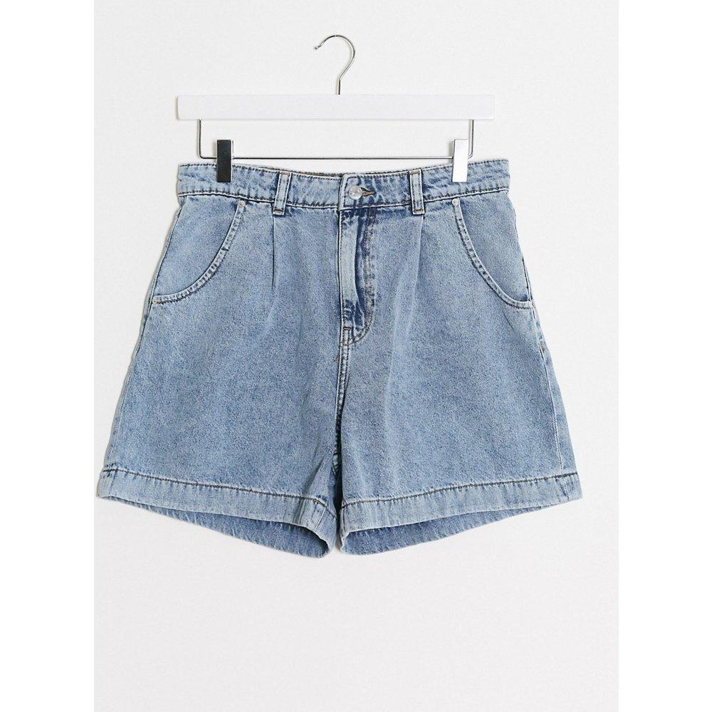 Short en jean ample - clair - Mango - Modalova