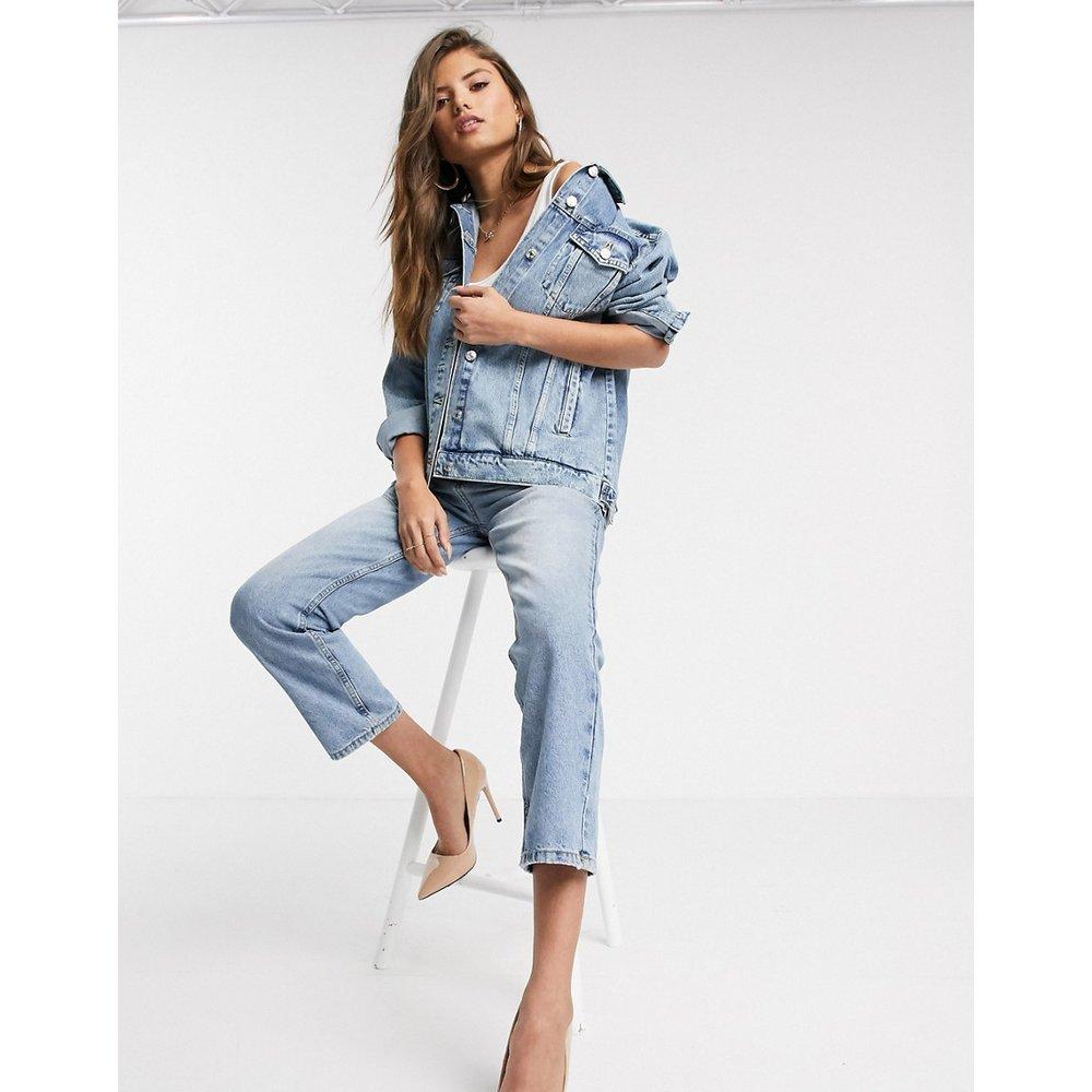 Veste en jean oversize - moyen - Mango - Modalova