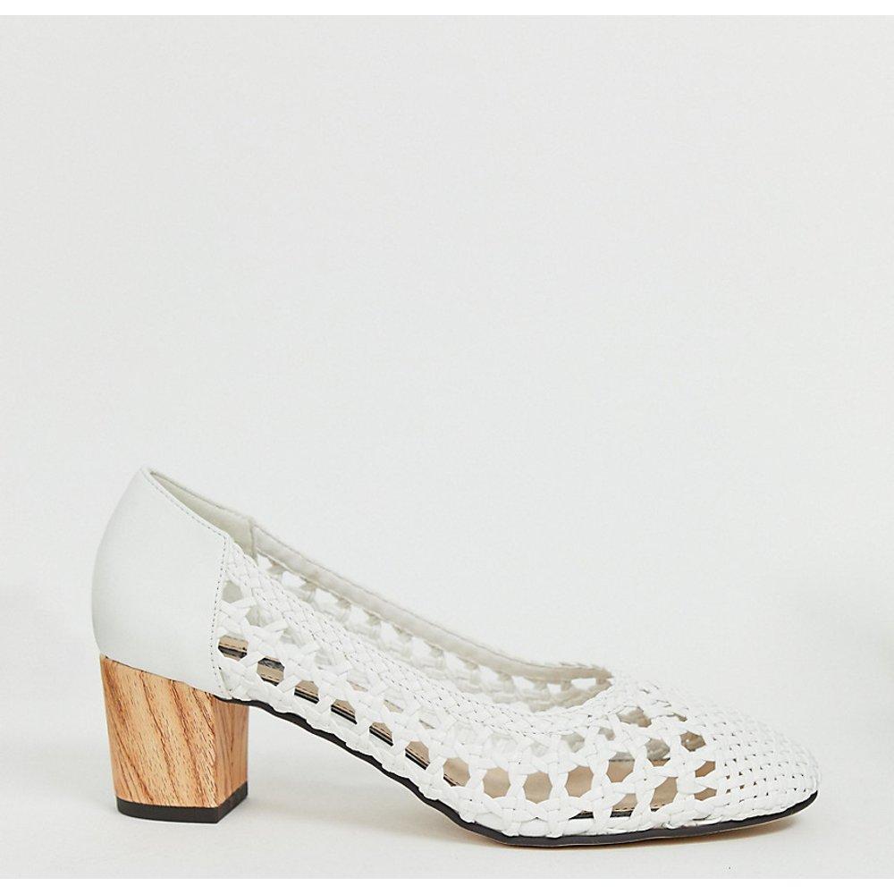 Chaussures tressées à talons - Blanc - Miss Selfridge - Modalova