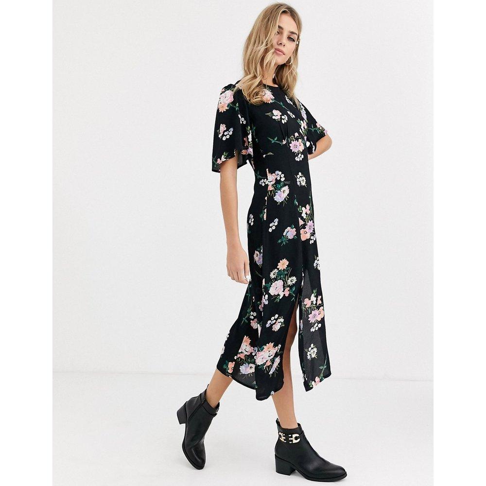 Robe mi-longue à fleurs - Miss Selfridge - Modalova