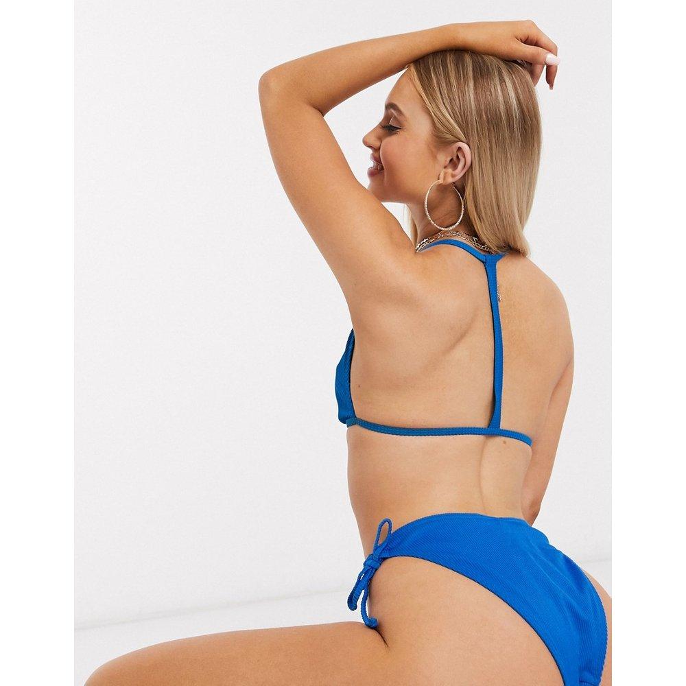 -Bas de bikini échancré noué sur les côtés - Missguided - Modalova