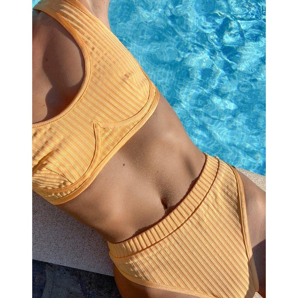 Bas de bikini effet bandage - Missguided - Modalova