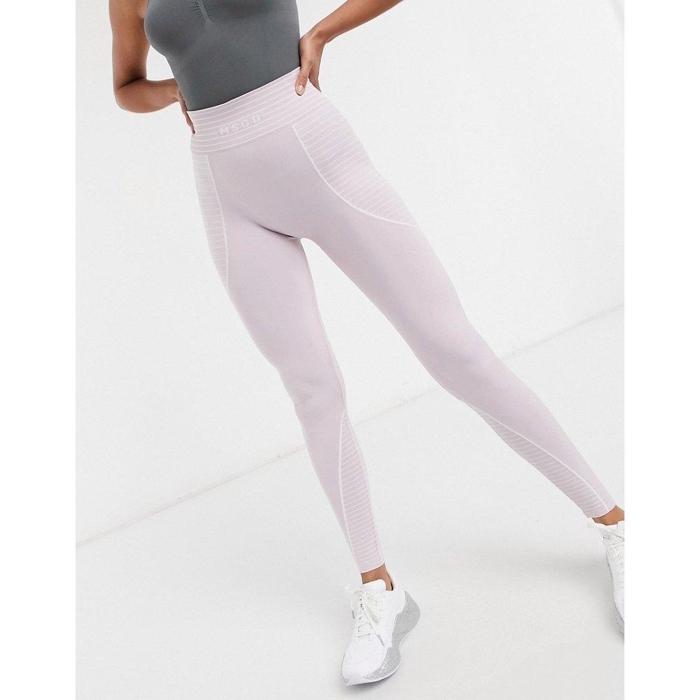 MSGD Active - Legging taille haute sans coutures - Missguided - Modalova