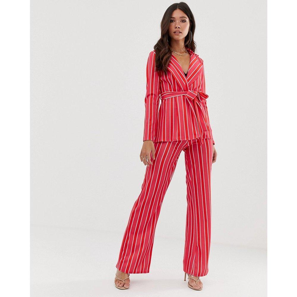 Pantalon d'ensemble à rayures - Missguided - Modalova
