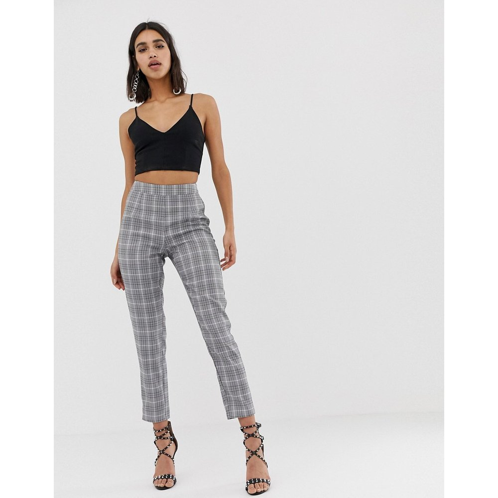 Pantalon slim - Carreaux - Missguided - Modalova
