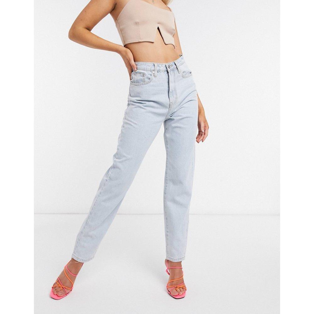 Riot - Jean mom taille haute en jean recyclé - Missguided - Modalova