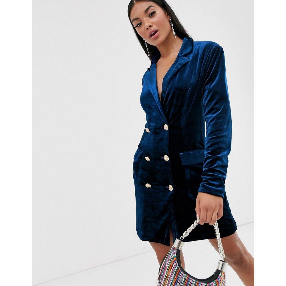 Robe blazer en velours - Missguided - Modalova