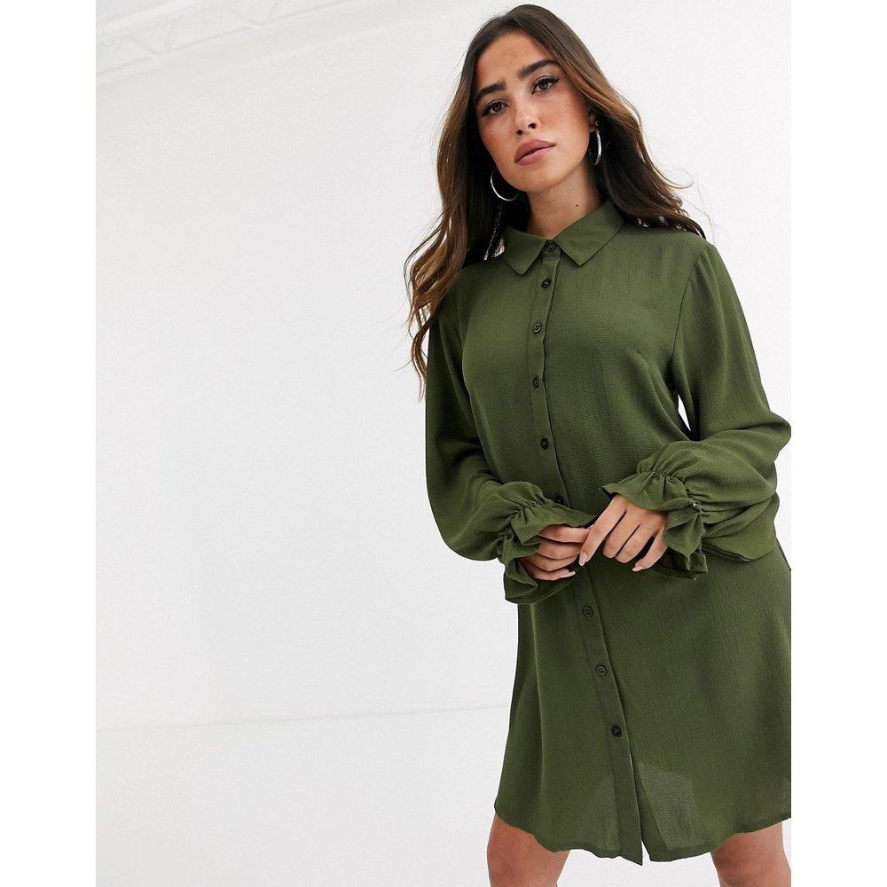 Robe chemise - Kaki - Missguided - Modalova
