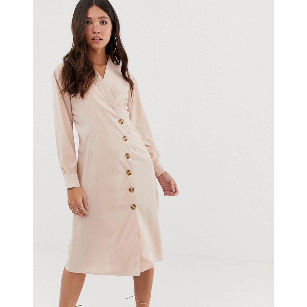 Robe chemise mi-longue - Missguided - Modalova