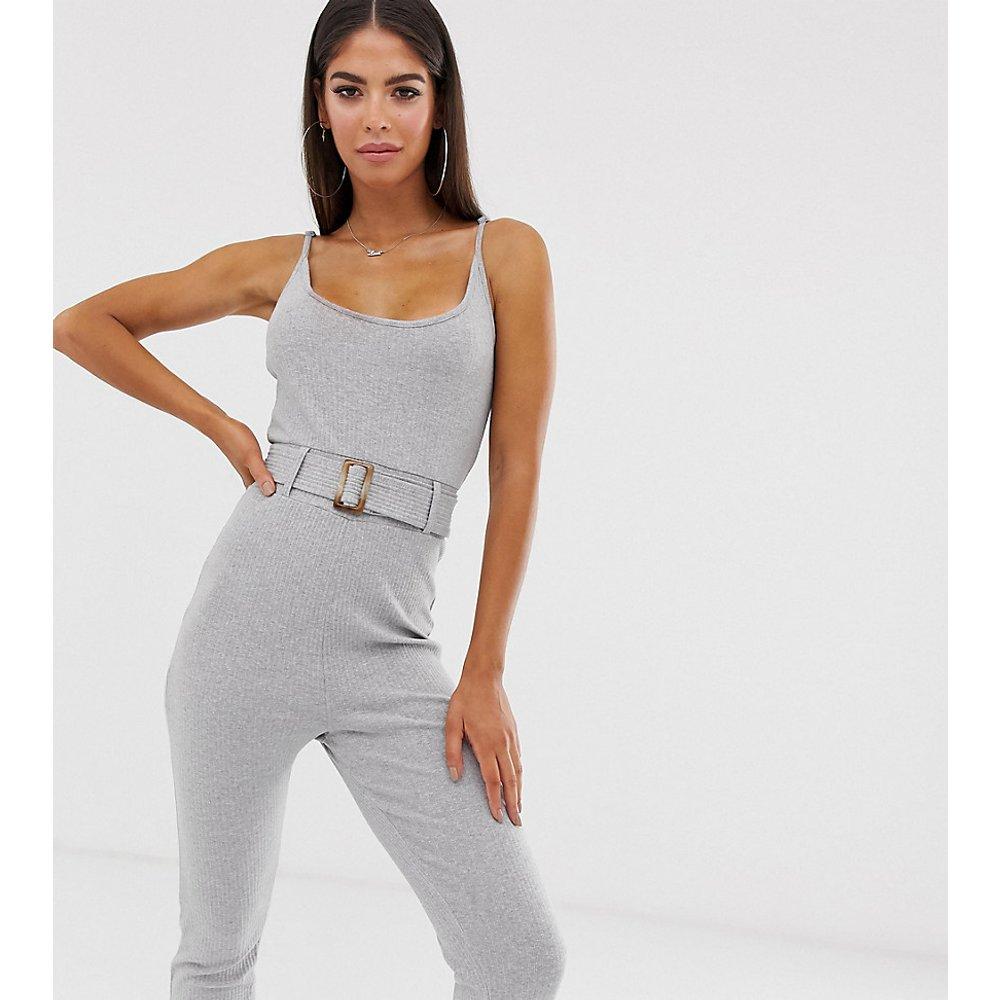 Combinaison côtelée avec ceinture - Missguided Tall - Modalova