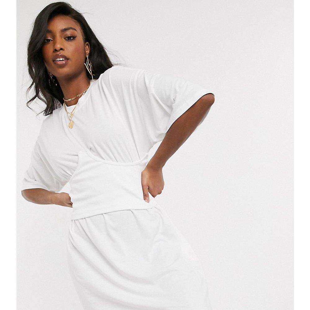 Robe t-shirt effet corset - Missguided Tall - Modalova