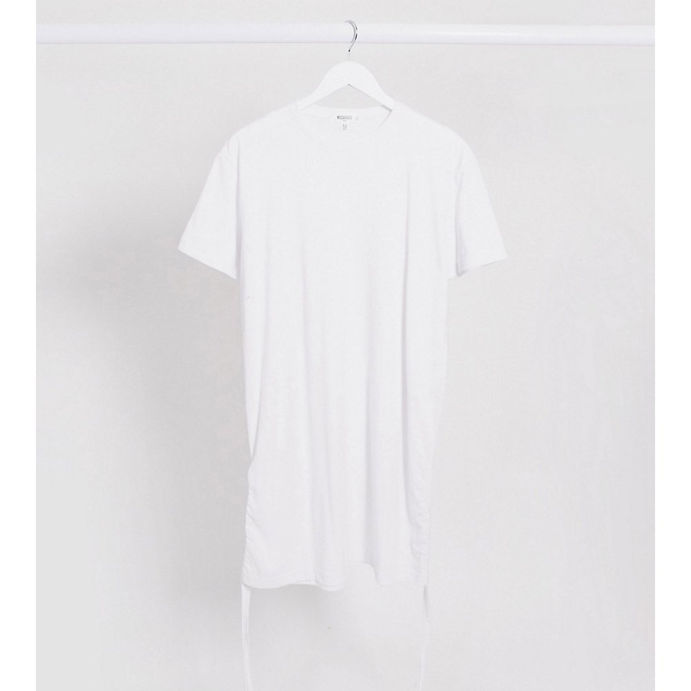 Robe t-shirt froncée sur les côtés - Missguided Tall - Modalova