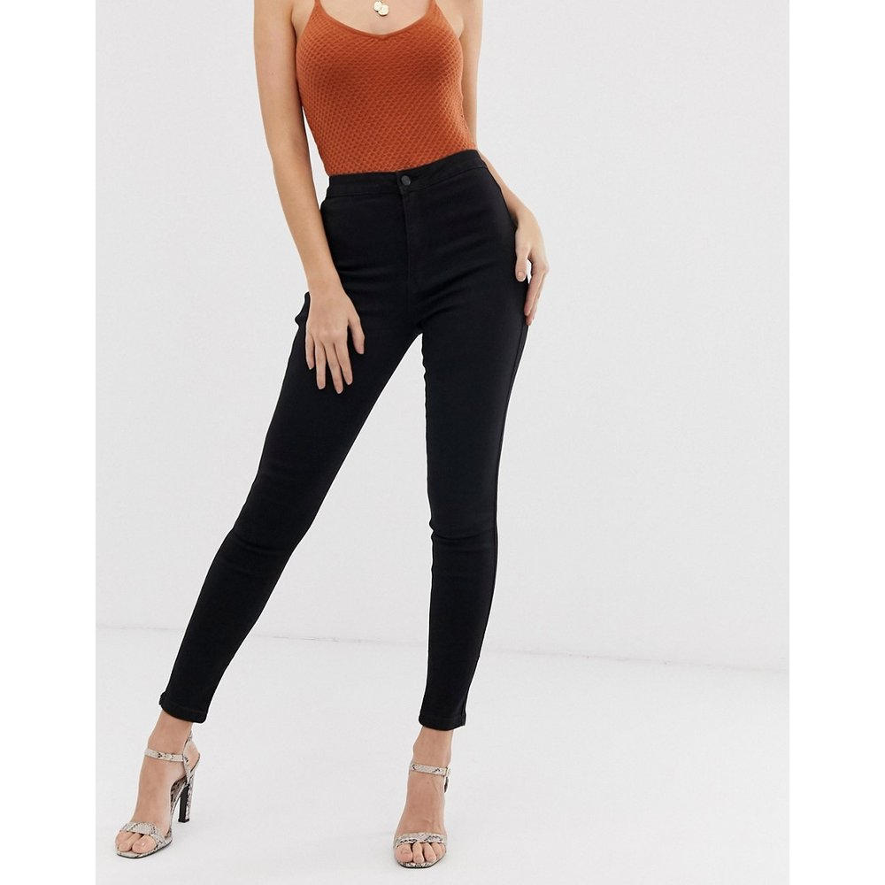 Vice - Jean skinny taille haute super stretch - Missguided - Modalova