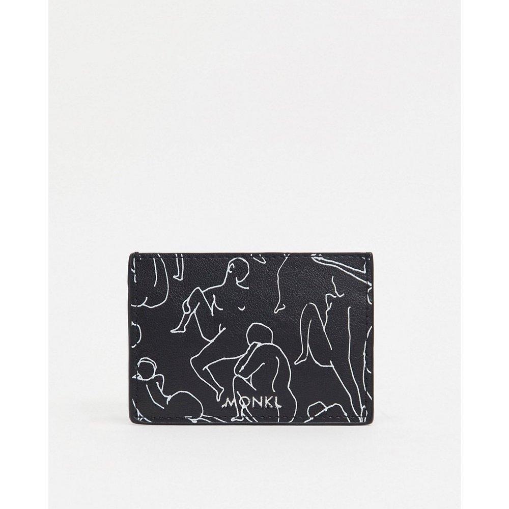 Cia - Porte-cartes imprimé - Monki - Modalova