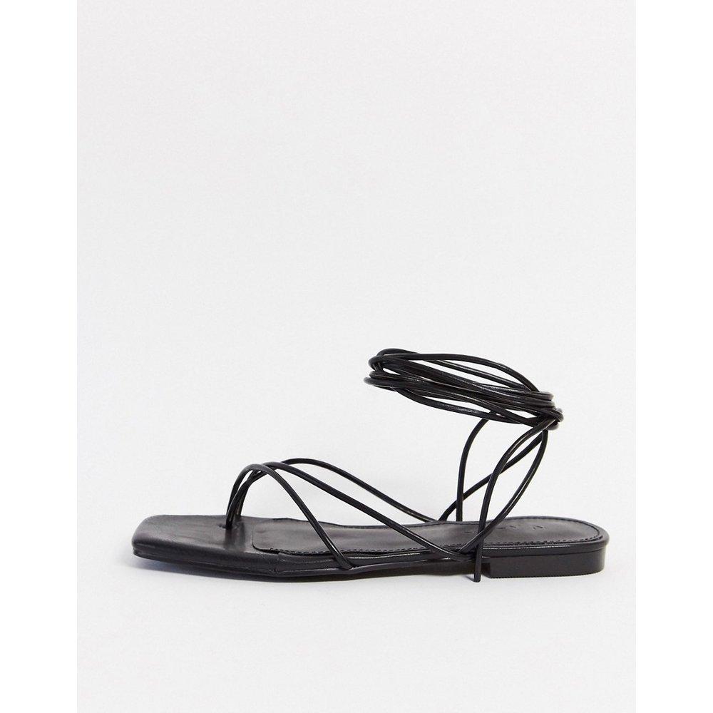 Sandales plates à lanières - NA-KD - Modalova