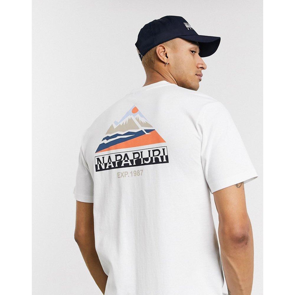 Sole - T-shirt à imprimé graphique - Napapijri - Modalova