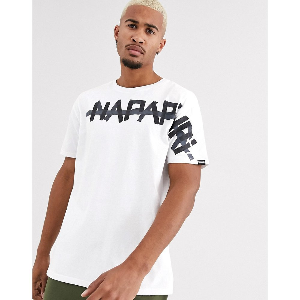 Napapijri - Solt - T-shirt - Blanc - Napapijri - Modalova
