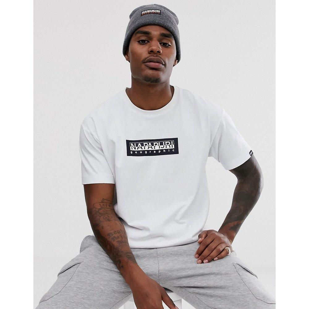 Napapijri - Sox - T-shirt - Blanc - Napapijri - Modalova