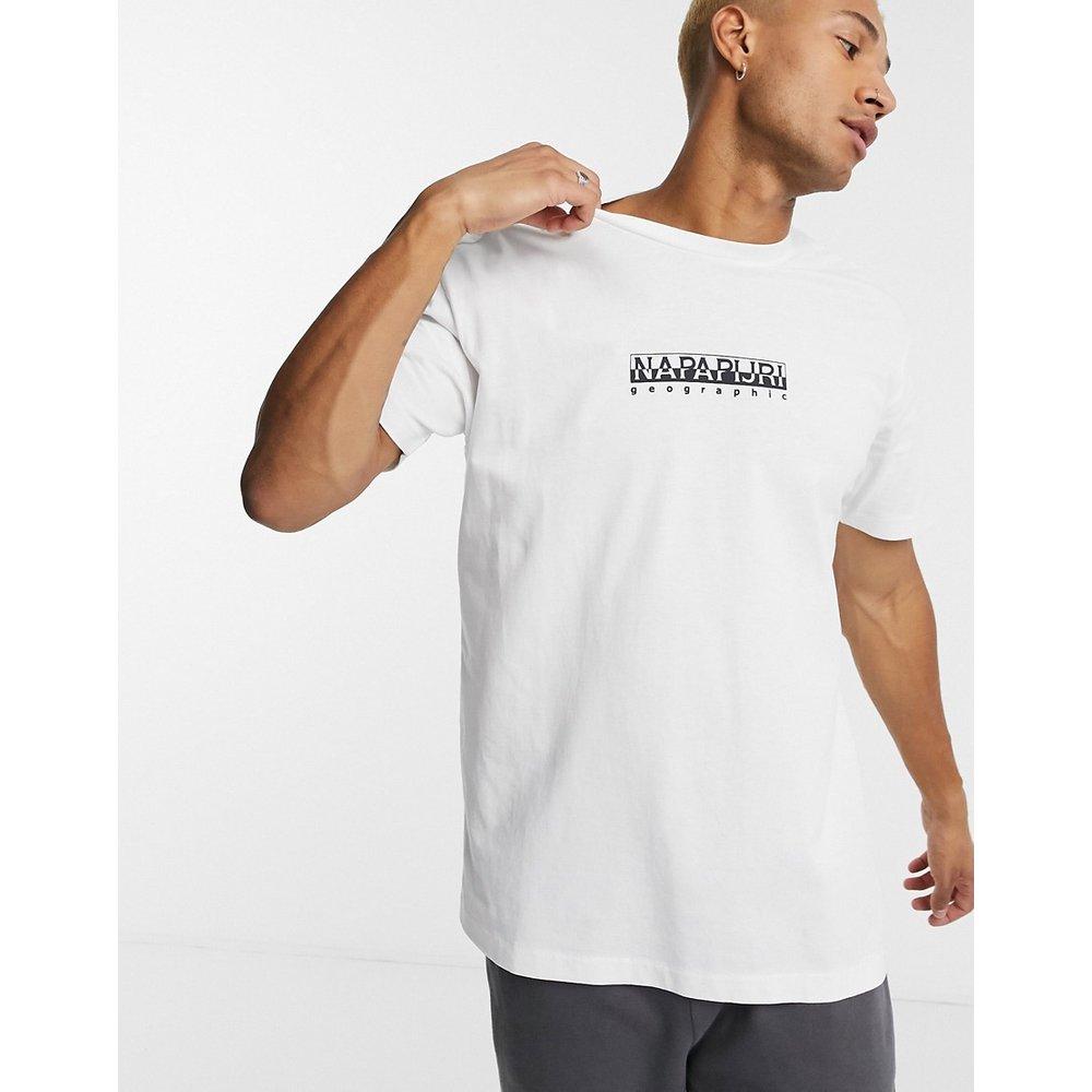 T-shirt à logo encadré - Napapijri - Modalova
