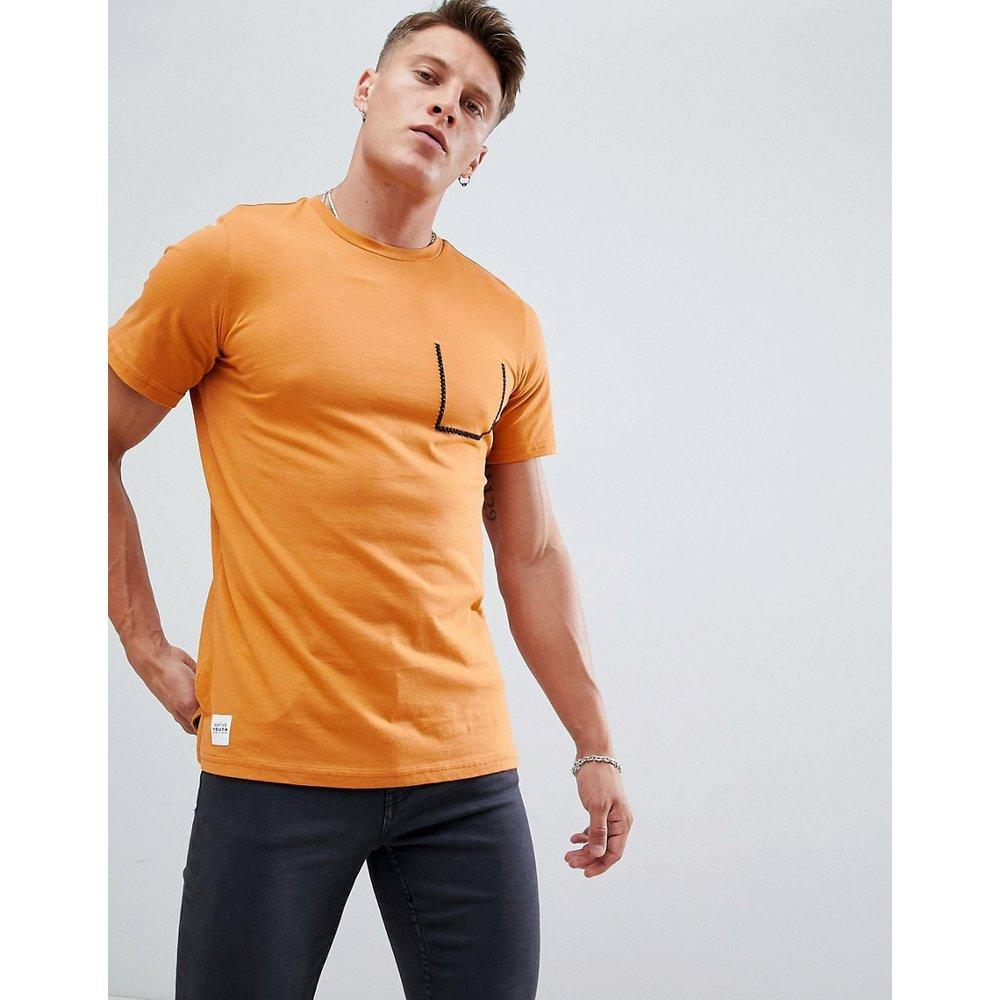 T-shirt avec poche surpiquée - Native Youth - Modalova