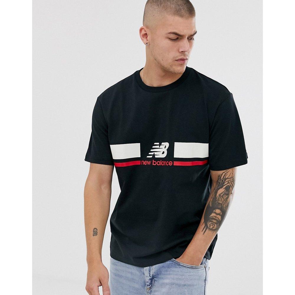 Athletics - T-shirt avec logo sur la poitrine - New Balance - Modalova