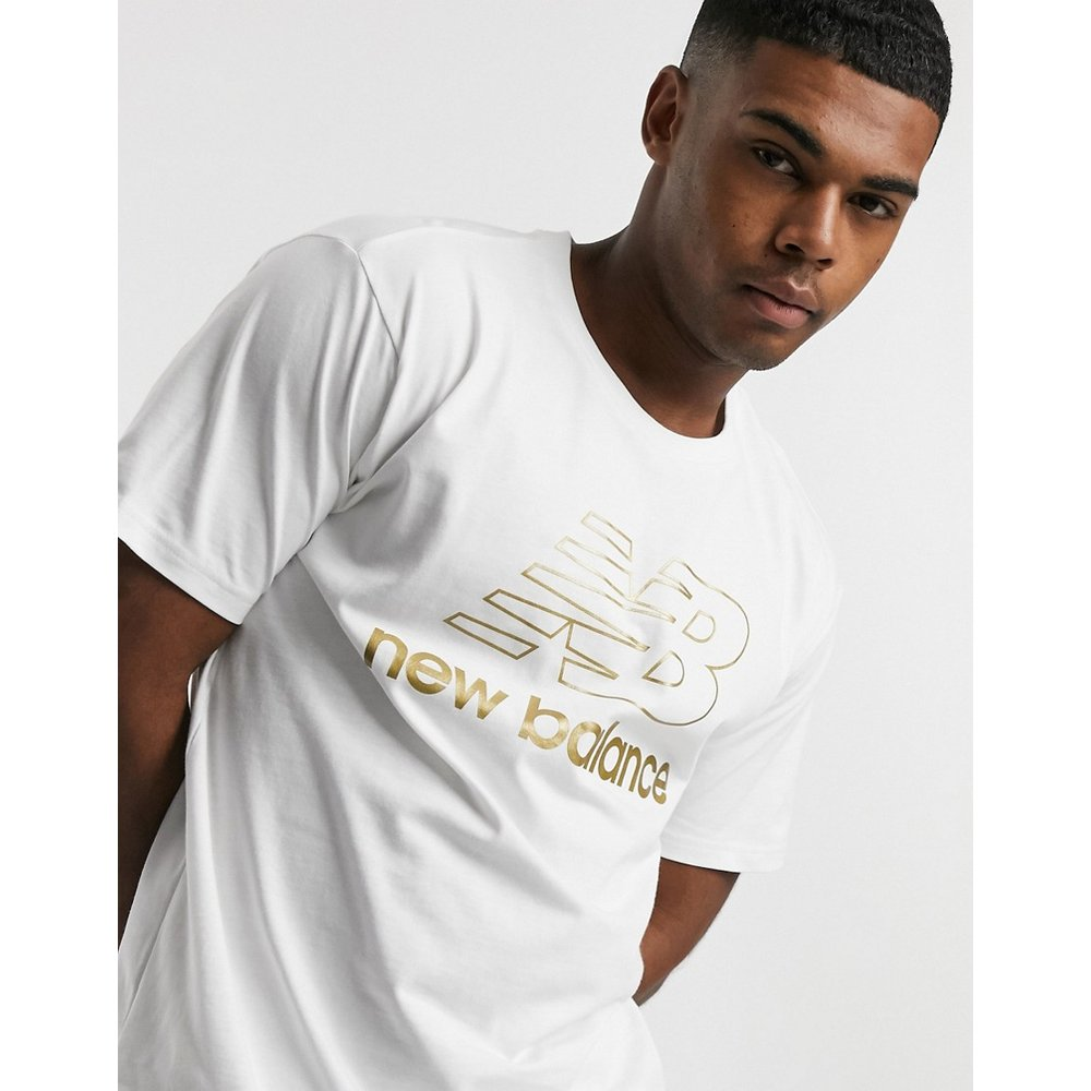 T-shirt à grand logo speed - New Balance - Modalova