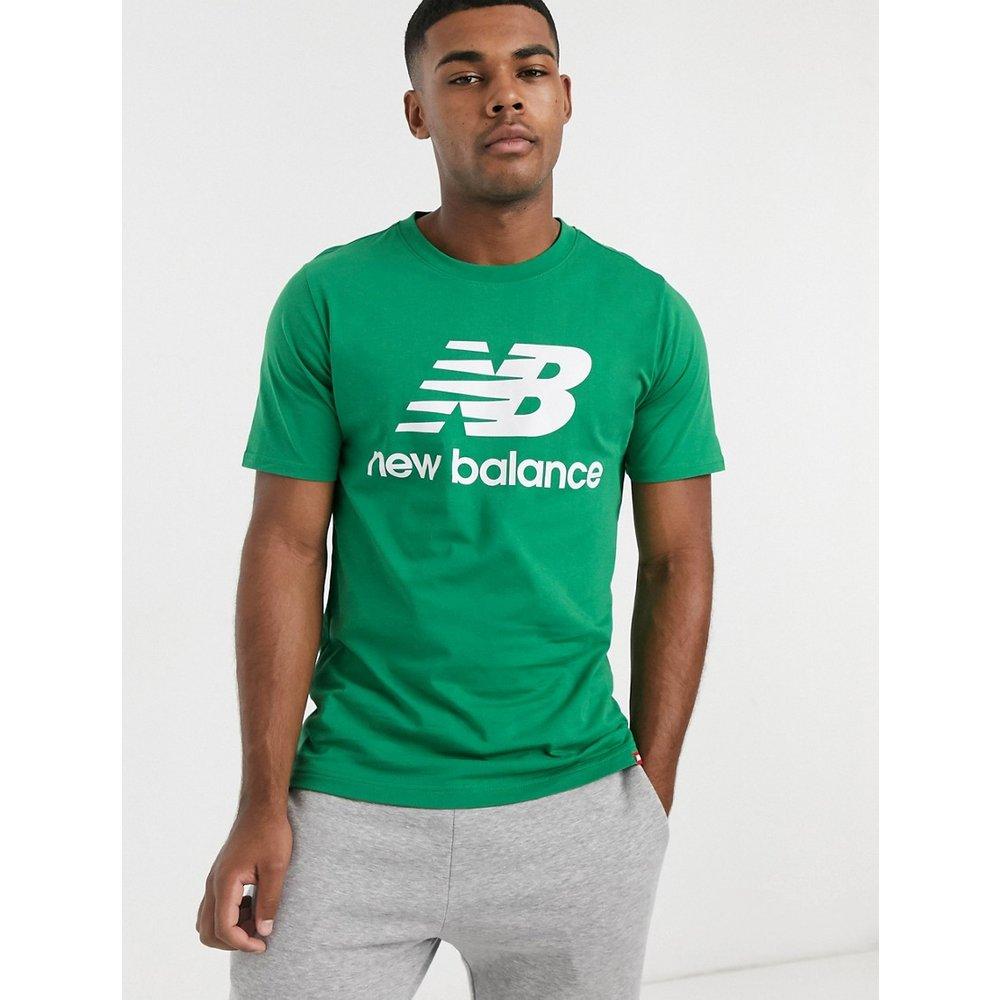 T-shirt avec logo sur le devant - New Balance - Modalova