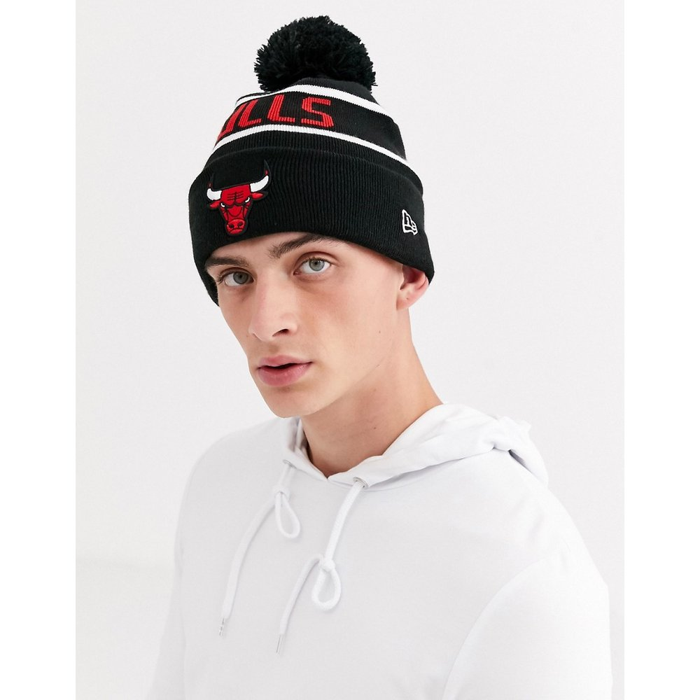 - NBA Chicago Bulls - Bonnet en maille avec pompon - new era - Modalova