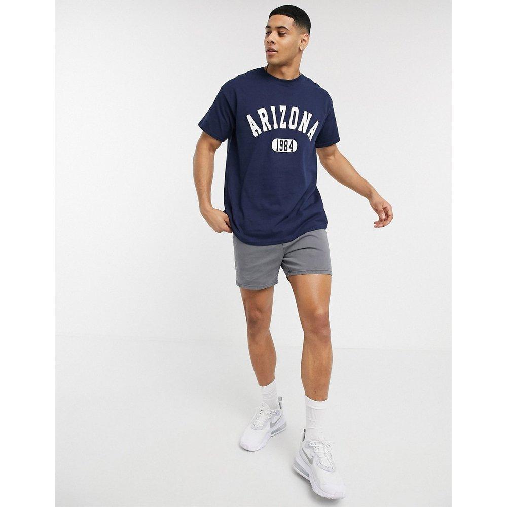 Arizona - T-shirt oversize - Bleu marine - New Look - Modalova