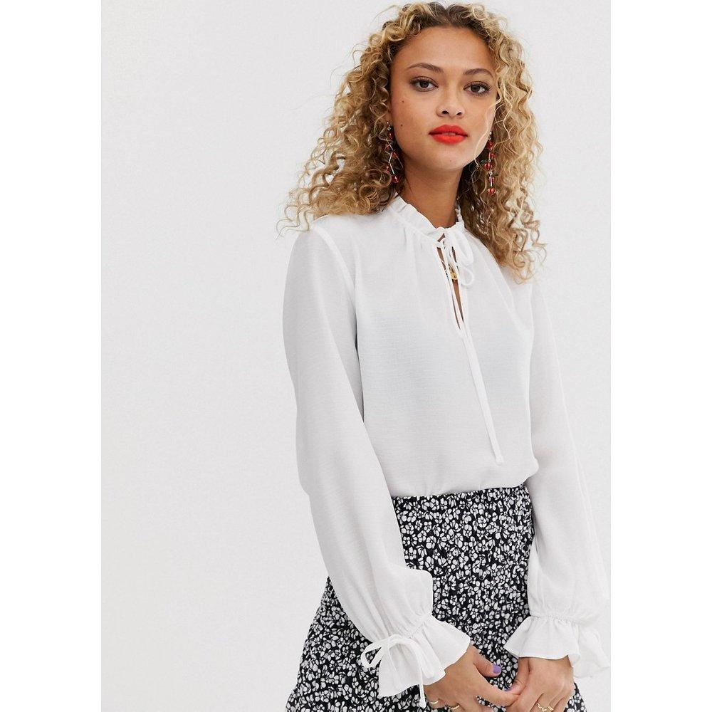 New Look - Blouse avec lien - Blanc - New Look - Modalova