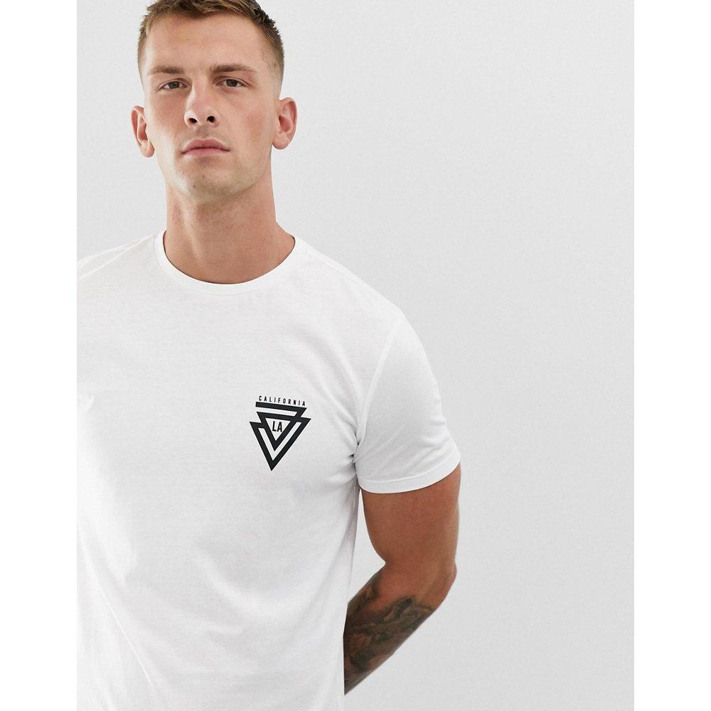 Cali - T-shirt à imprimé triangle - New Look - Modalova