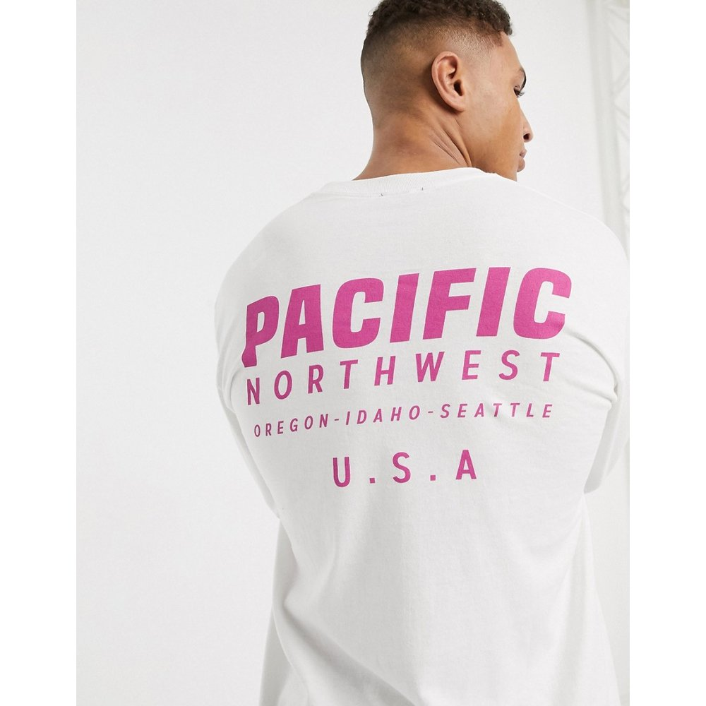 Pacific - T-shirt manches longues - New Look - Modalova
