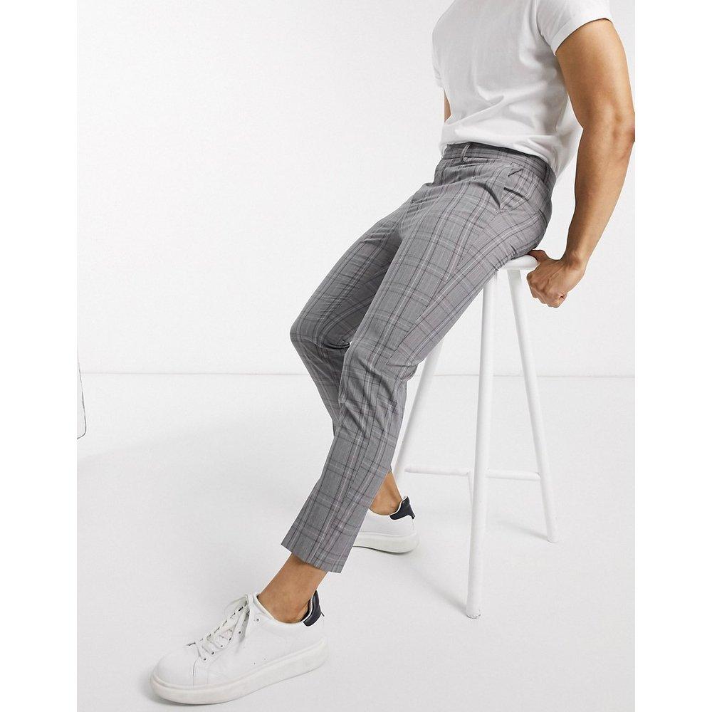 Pantalon à carreaux - New Look - Modalova
