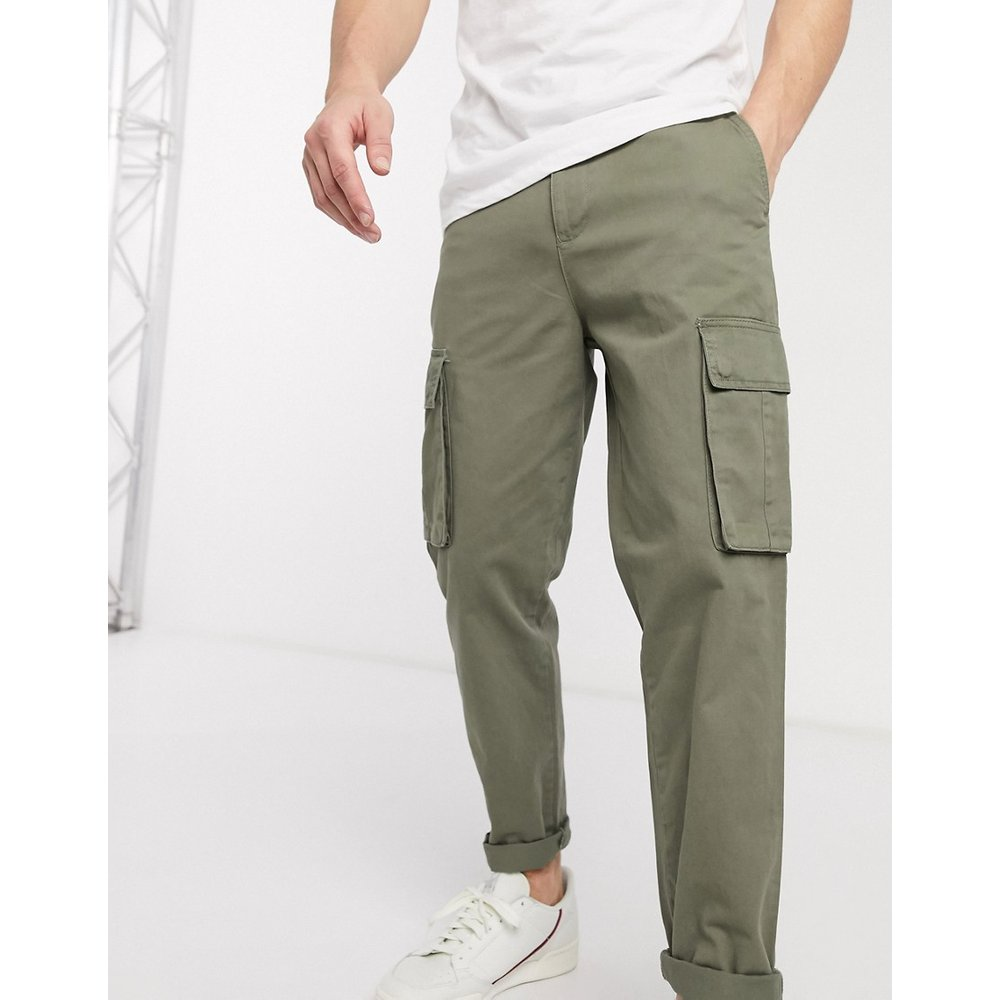 Pantalon cargo - Kaki - New Look - Modalova