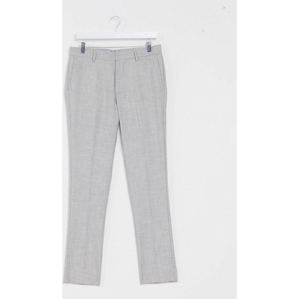 Pantalon de costume ajusté - clair - New Look - Modalova