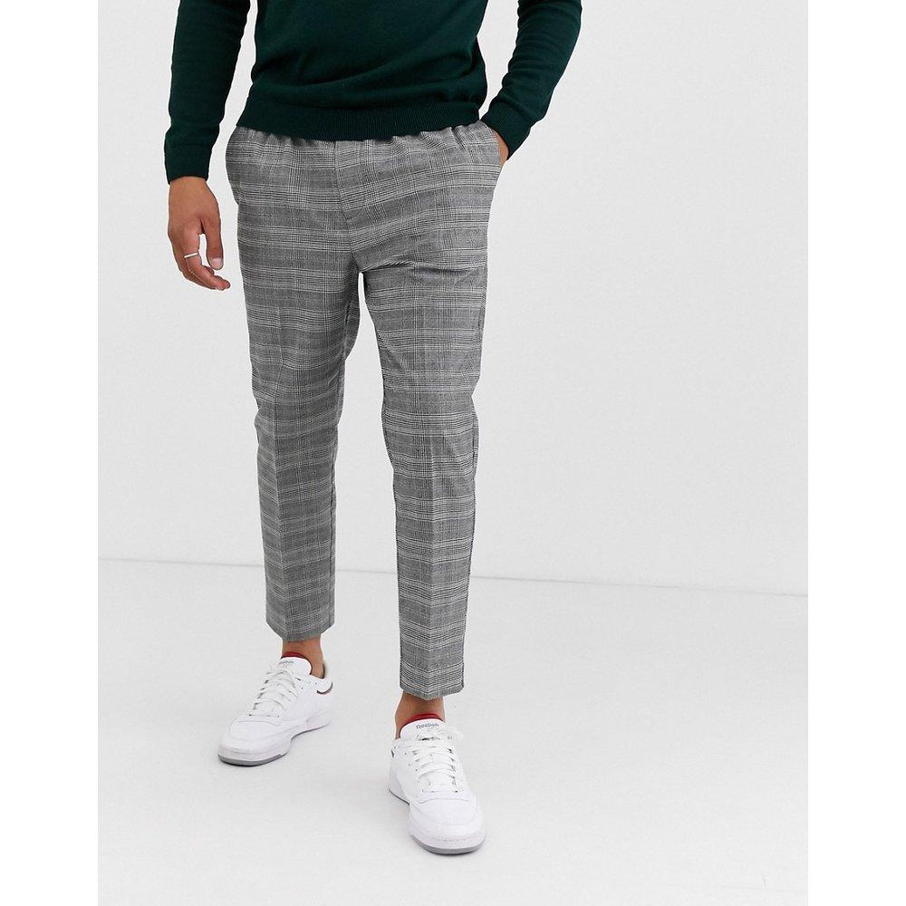Pantalon slim élégant à carreaux - New Look - Modalova