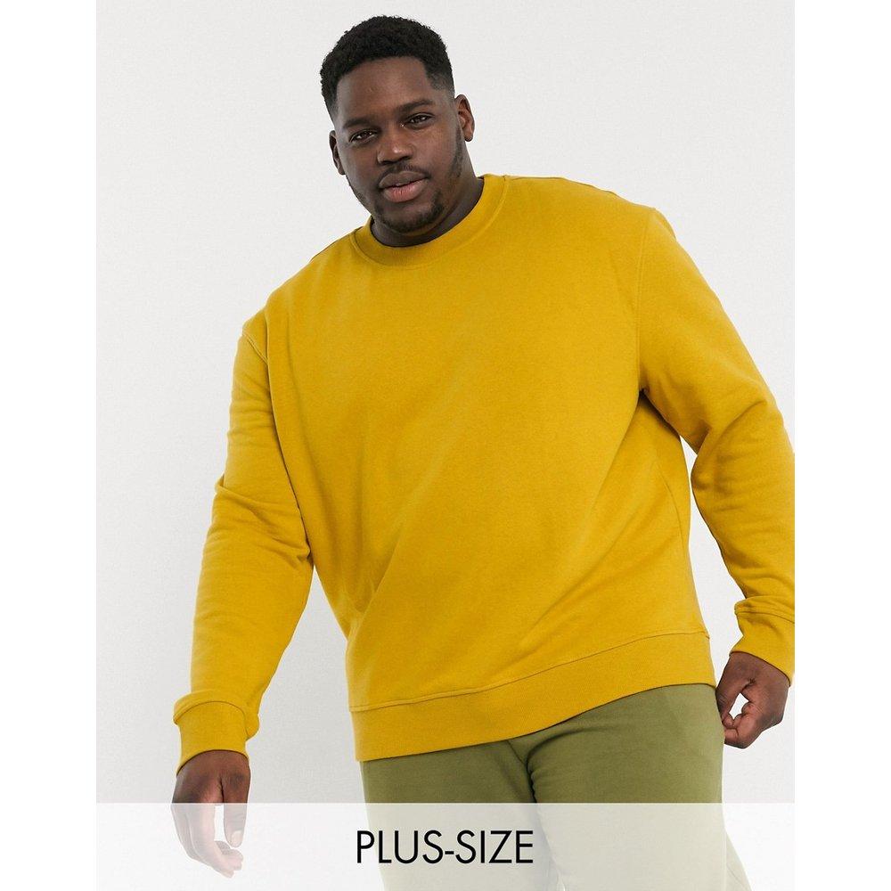 PLUS - Sweat-shirt ras de cou décontracté - New Look - Modalova
