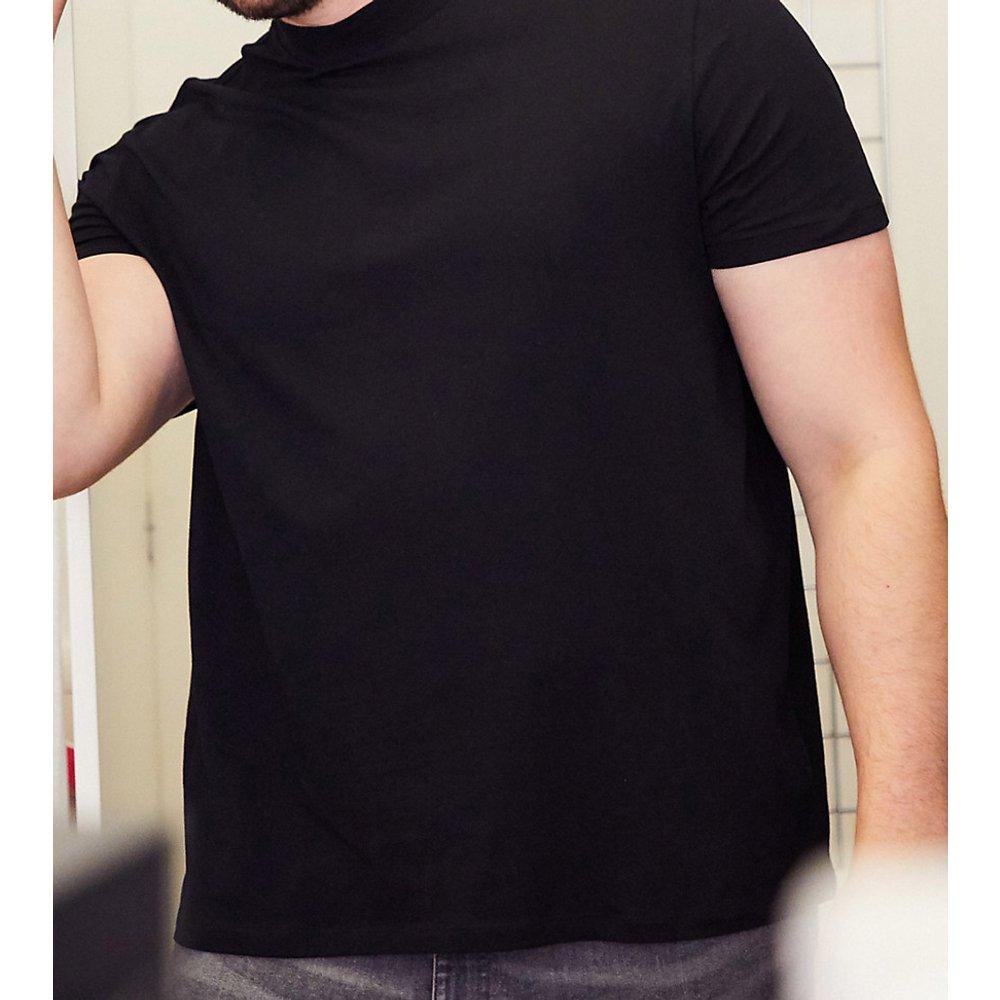 Plus - T-shirt col montant - New Look - Modalova