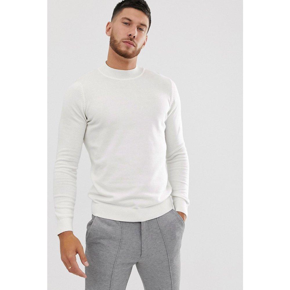 New Look - Pull col roulé-Blanc - New Look - Modalova