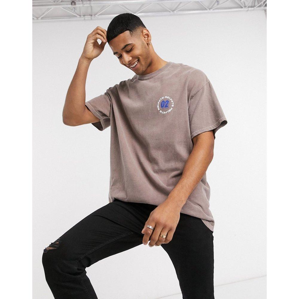 Reunite - T-shirt à imprimé - foncé - New Look - Modalova