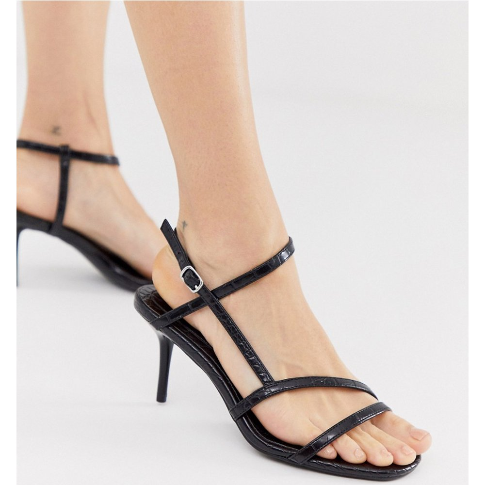 Sandales à petits talons et brides - New Look - Modalova