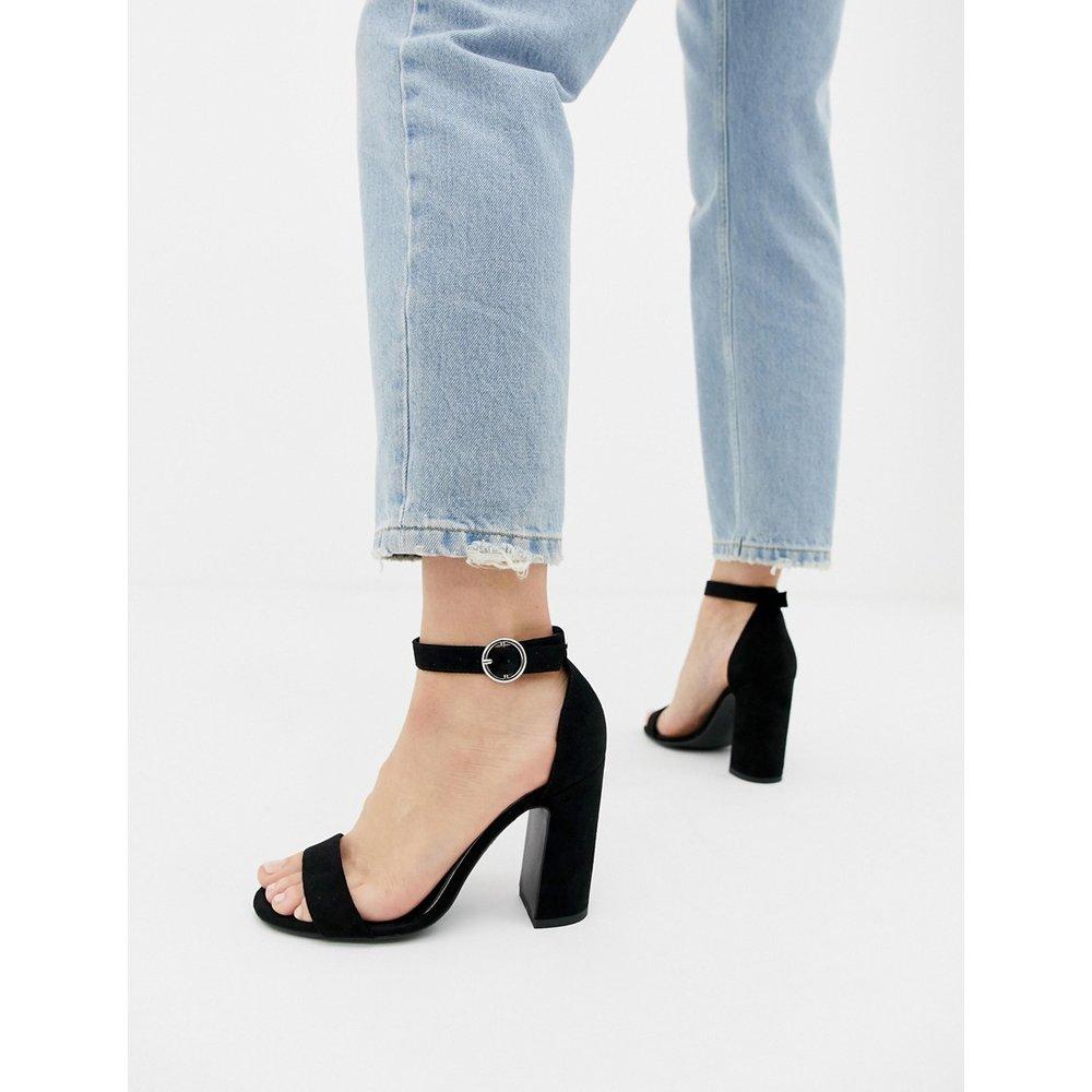 Sandales minimalistes à talons - New Look - Modalova