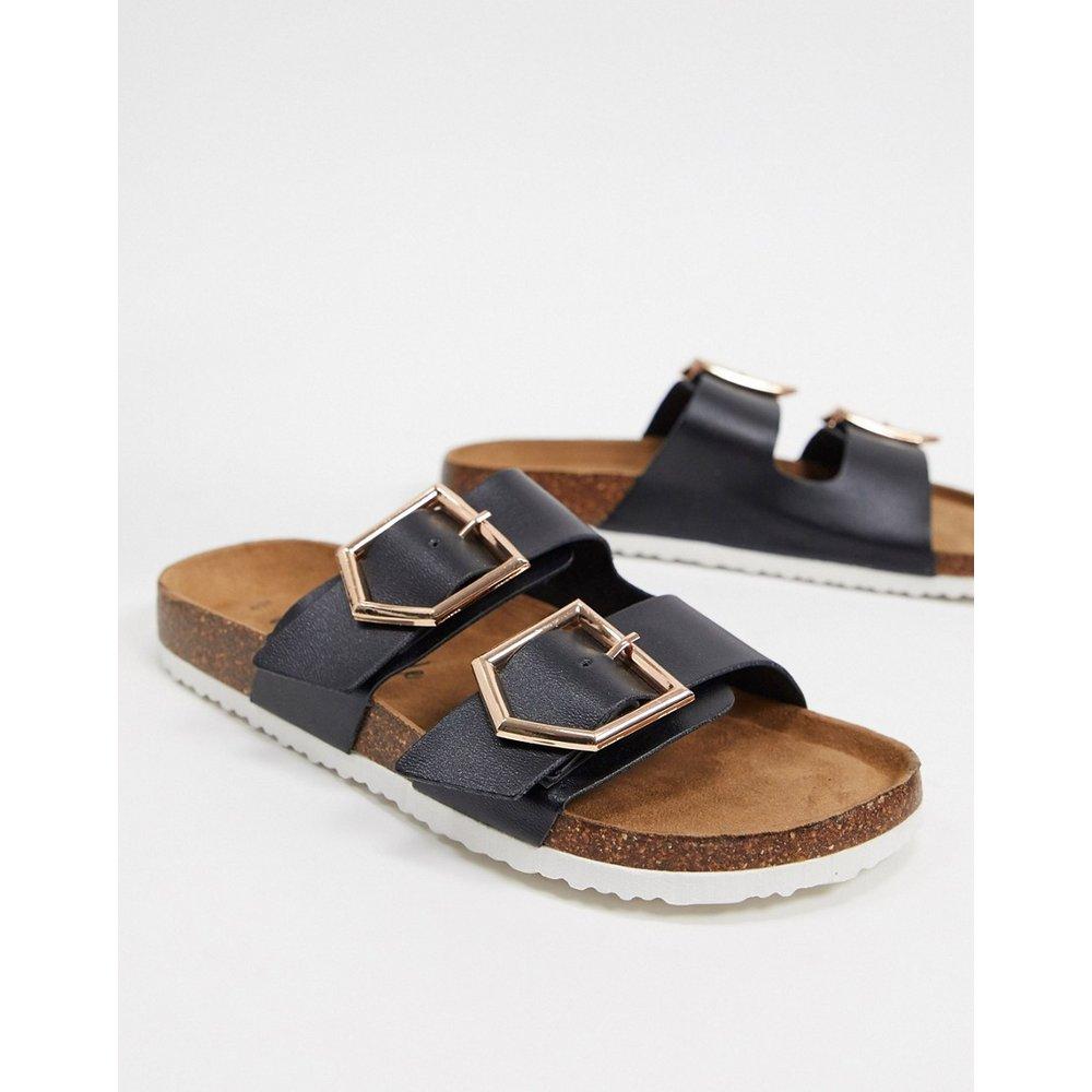 Sandales plates à deux sangles - New Look - Modalova