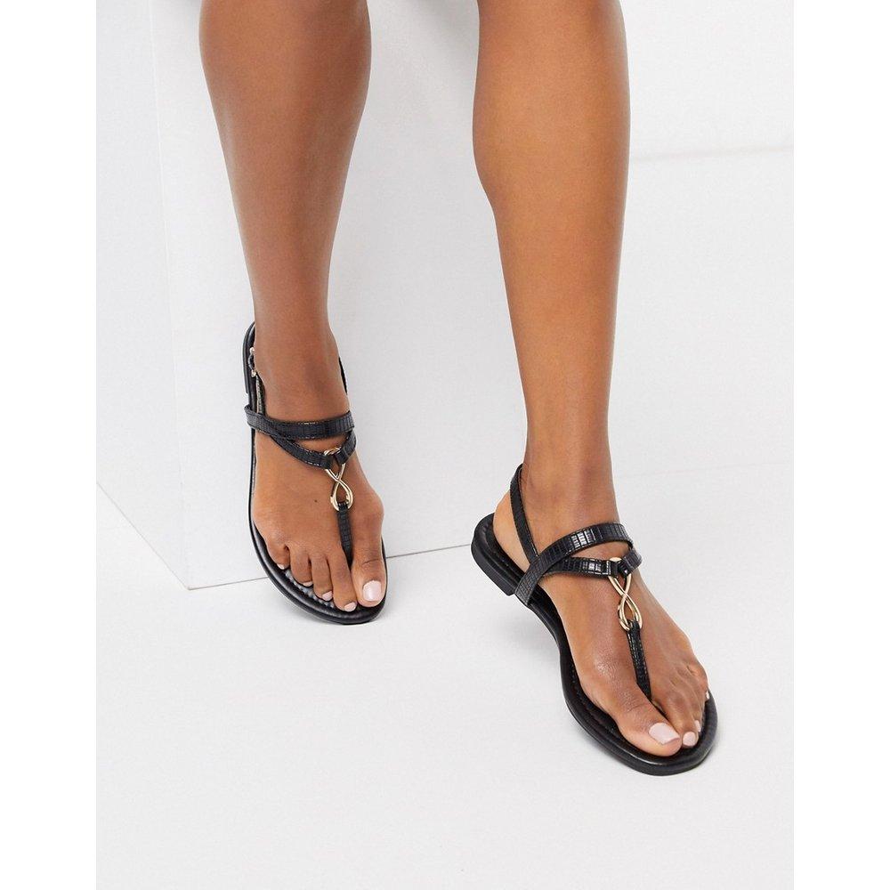 Sandales plates à entredoigt - New Look - Modalova
