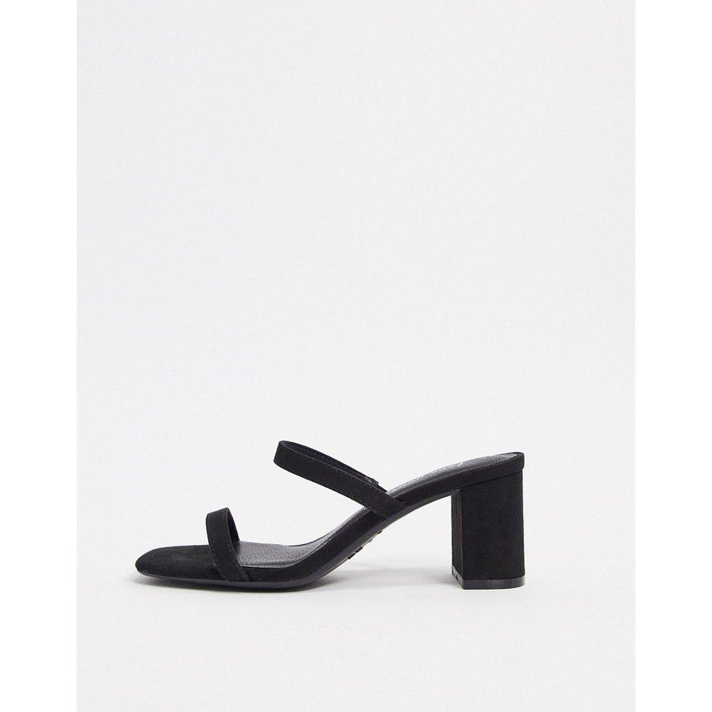 Sandales style mules à talons et brides - New Look - Modalova