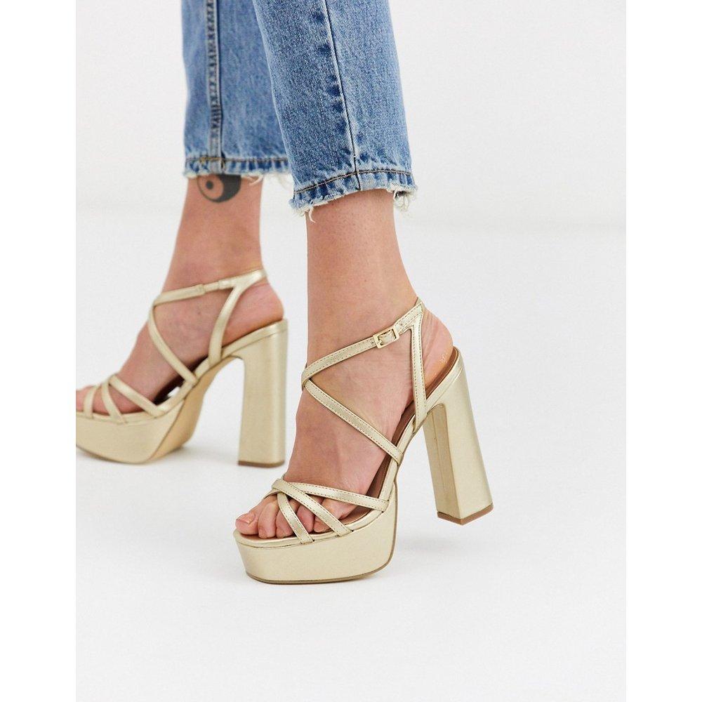 Strap up - Chaussures à talons hauts et plateformes - New Look - Modalova