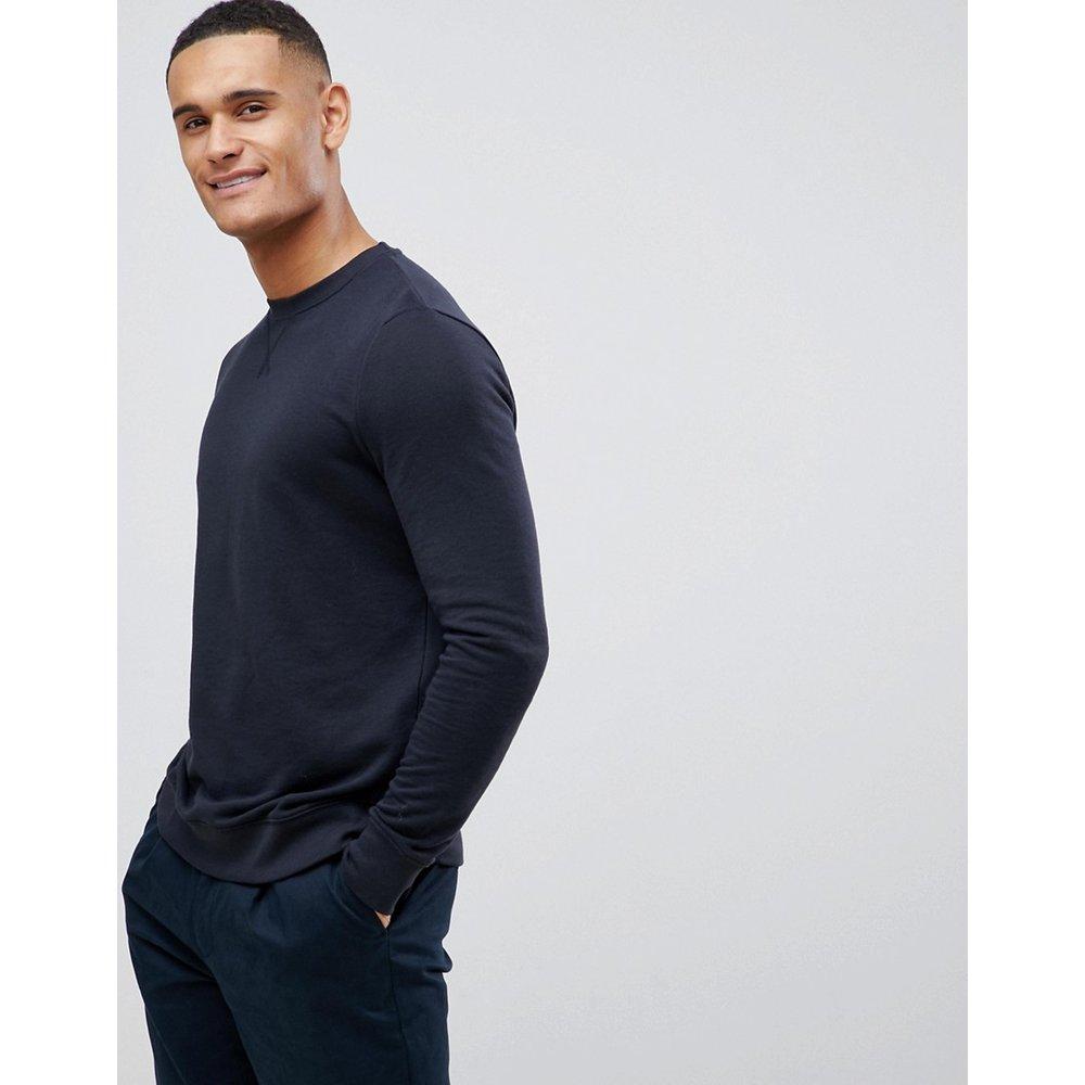 Sweat-shirt ras de cou - Bleu marine - New Look - Modalova