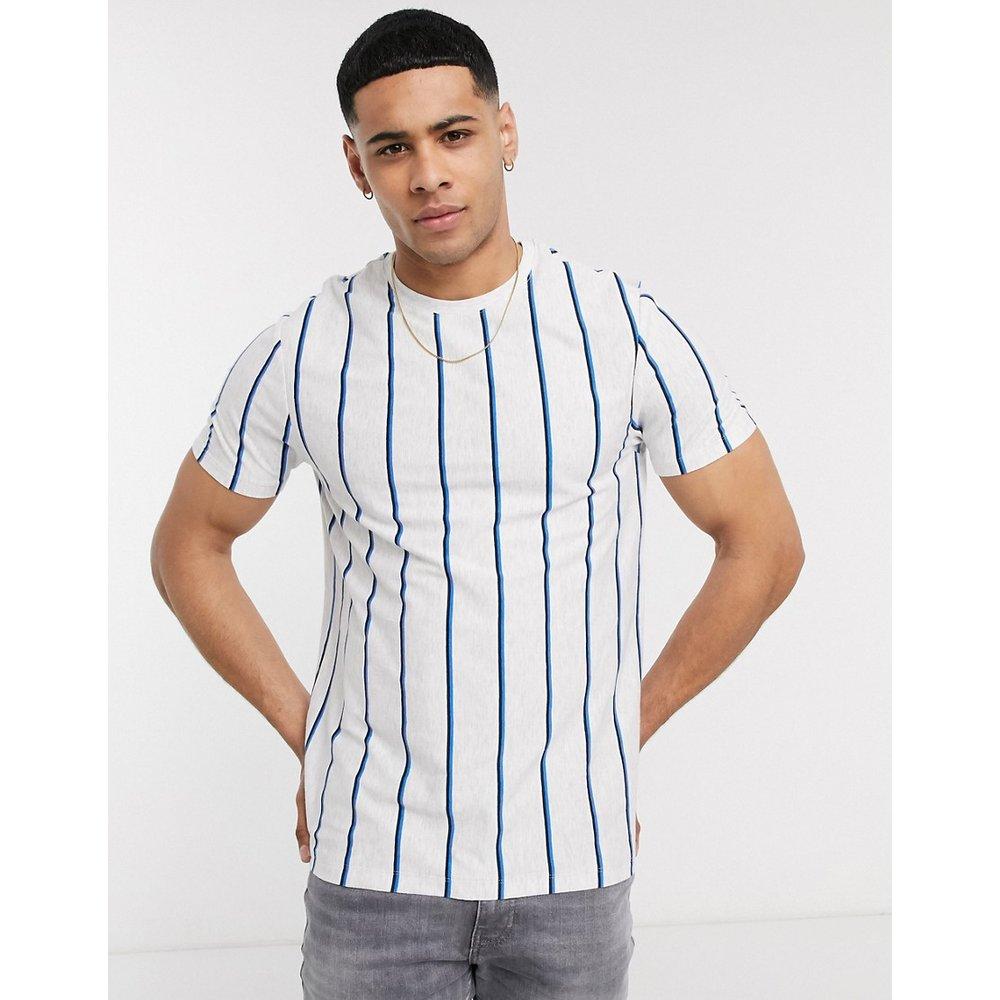 T-shirt à rayures verticales - New Look - Modalova