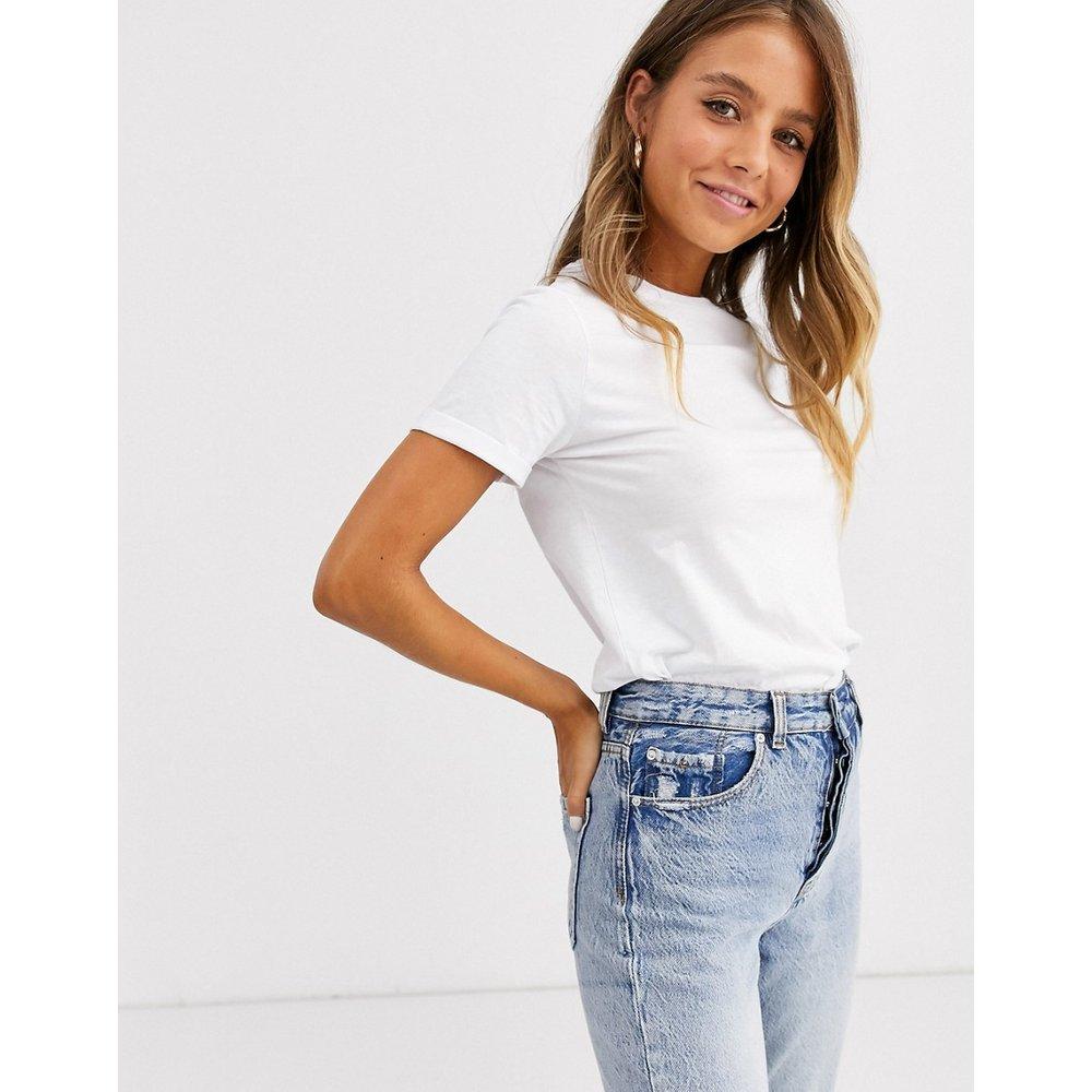 T-shirt col roulé en coton biologique - New Look - Modalova