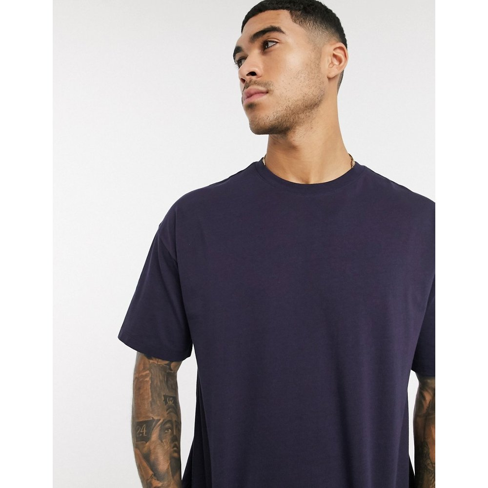 T-shirt oversize - Bleu marine - New Look - Modalova